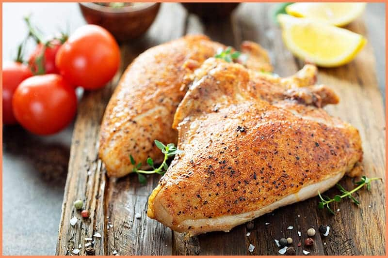 how to grill chicken breast (bone-in)