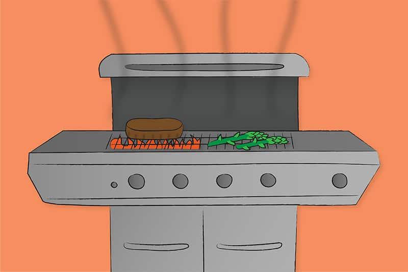 grilling understanding temperature control