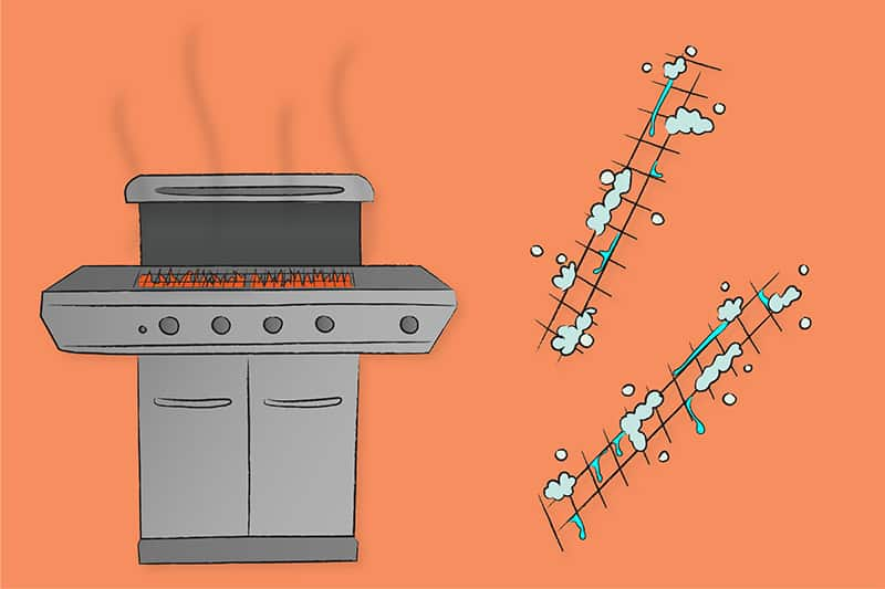 how to set up your grill