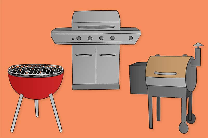 preparing your grill