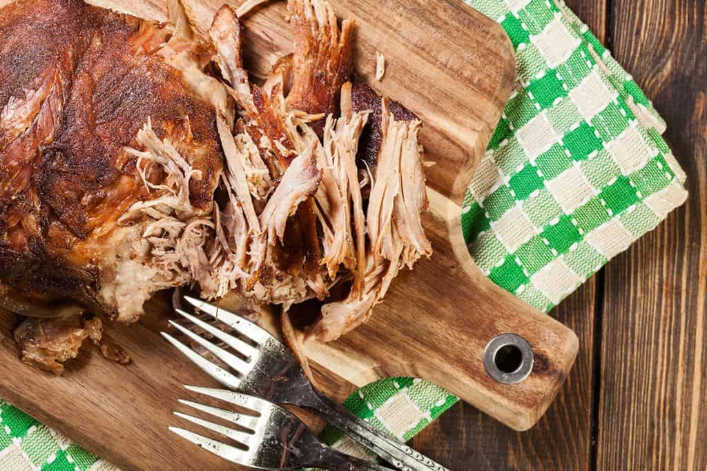 slow smoked pulled pork shoulder 1
