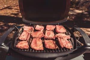 australian gas barbecue beef steaks