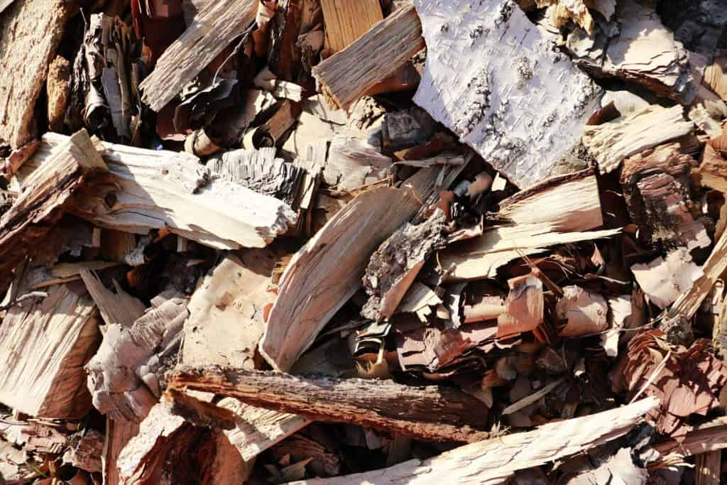 bark fine wood chips for smoking