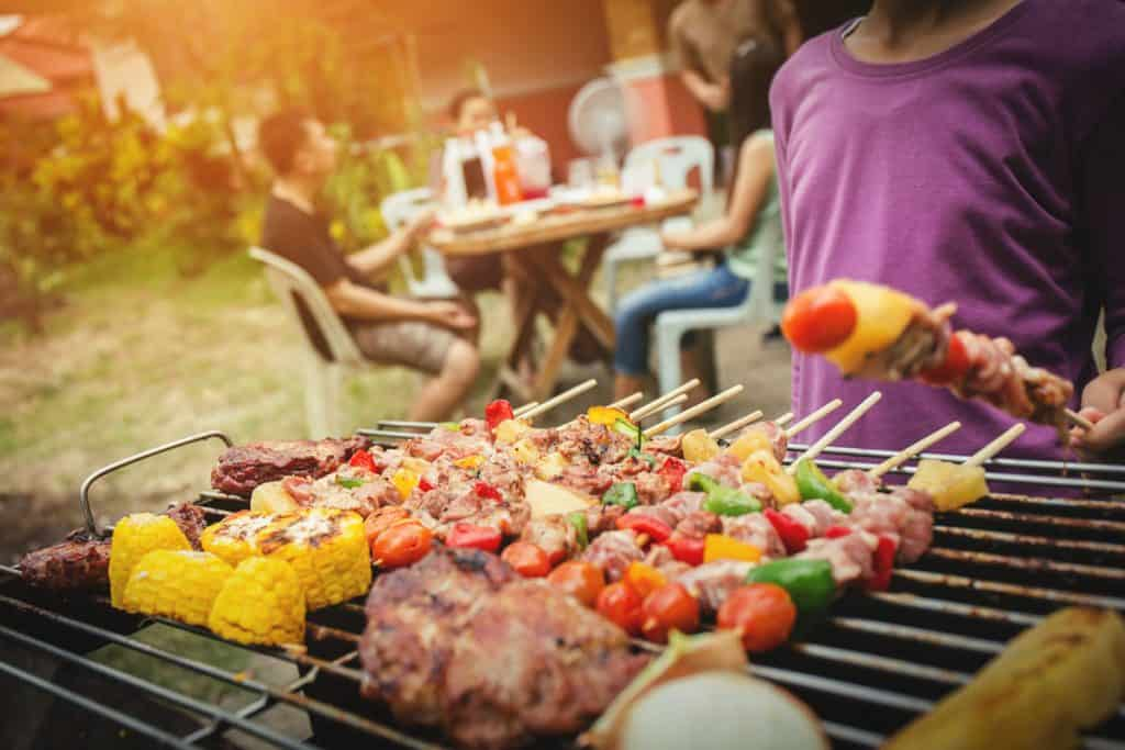 bbq food party summer grilling meat