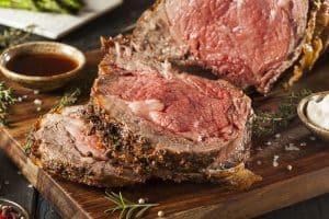 homemade grass fed prime rib roast