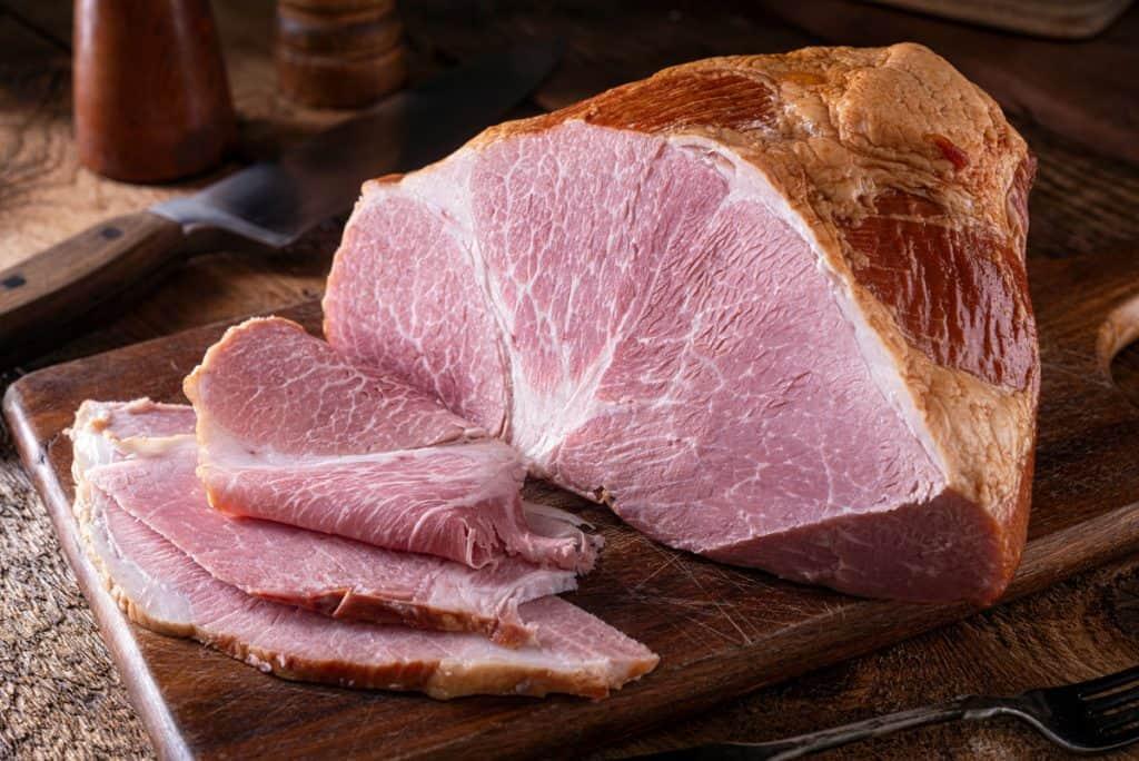 naturally smoked ham
