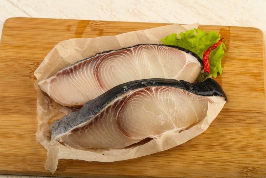 raw shark steak
