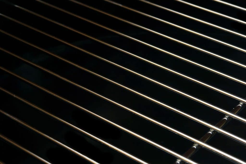 stainless steel iron grill