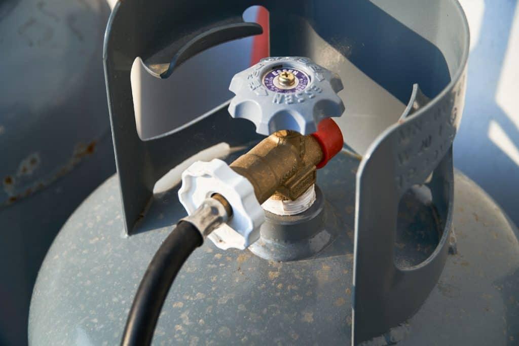valve of gas tank