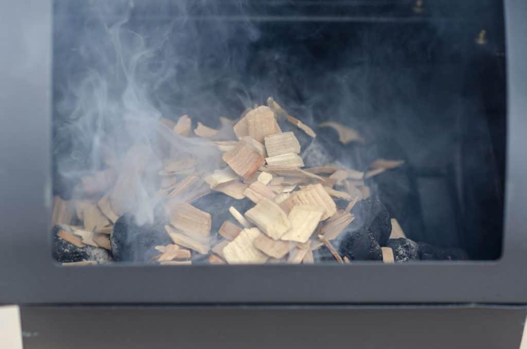 wood smoked brisket