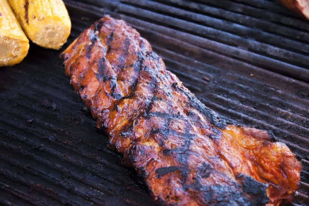 Grilling Pork loin ribs